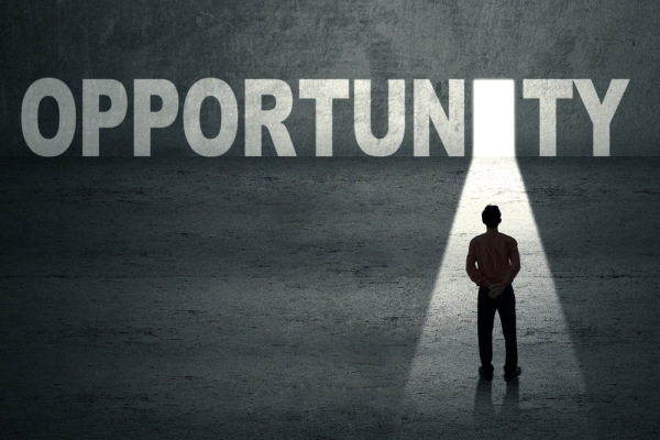 Open door of opportunity